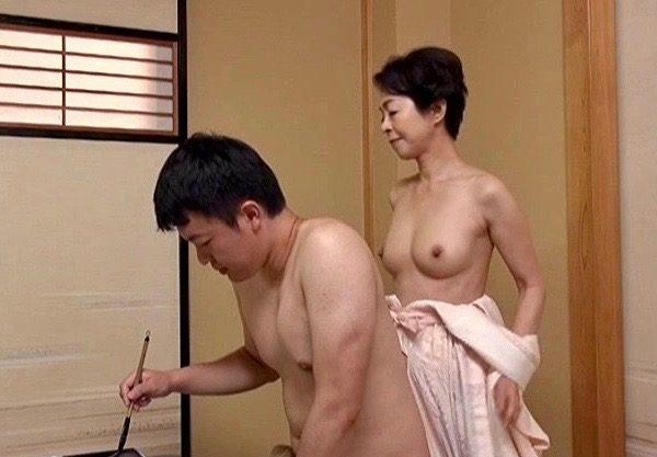 *藍川京子* 敏感なアソコが一番!!夫の筆より立派だわww