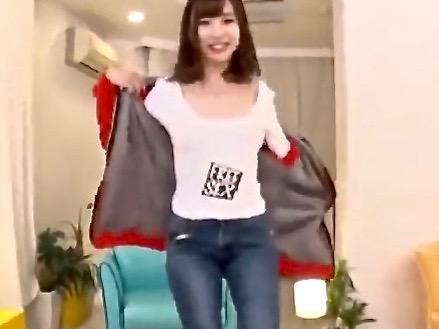 *美少女* 可愛い顔したジーパン娘は超ヤリマン!!