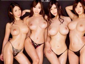 *ハーレム*爆乳の美女達に襲いかかる肉棒串刺しの連続波状攻撃!!