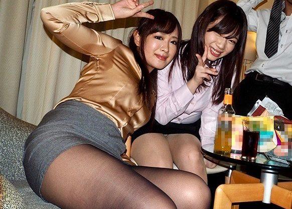 *OL*会社の忘年会の二次会は、社員同士で乱交パーティが恒例ですww
