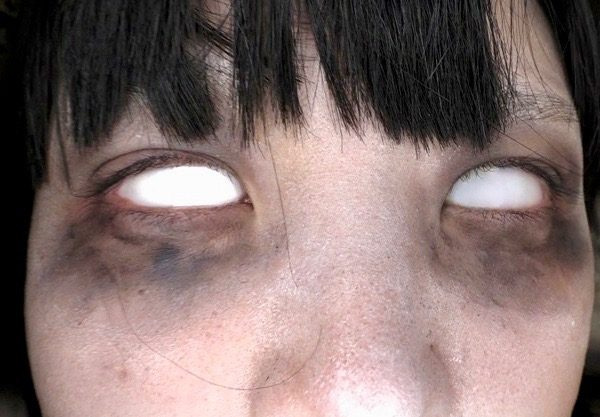 *なごみ*真っ黒な眼と真っ白な眼であなたを見つめたらww