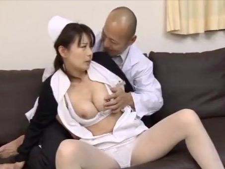 *三浦恵理子*息子が医者になる為に医師に犯され続ける母親ナースww