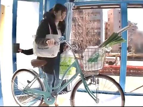 *企画*「この自転車…試すんですか?」乗った時から電マサドルの振動に耐え切れず大量潮吹き!!オマンコ暴走し始めた若妻が夕飯前に肉棒試食ww