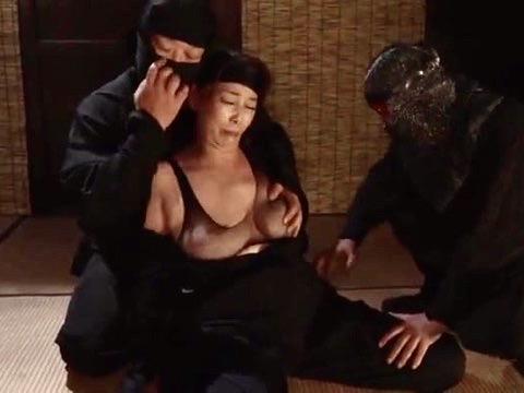 *青井マリ*「チンポ最高!!」くノ一性技に翻弄され実の息子との性交で真の快楽に溺れていくww