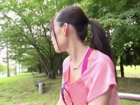 *富田優衣*アイドルを目指すの21才美人ジョガーが気が付いたらAVデビューで寝取られファックww